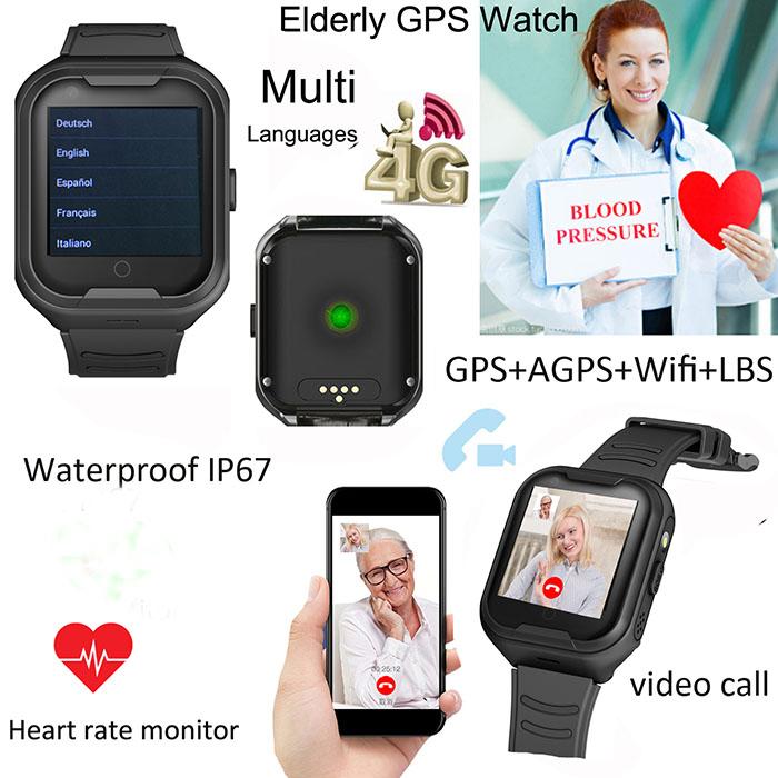 GPS034W - Reloxo GPS de Monitorización de Saúde de maiores en OMG