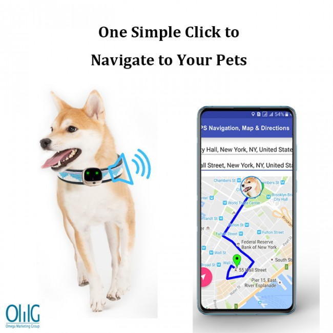 GPS037D - Mini Personal GPS Tracker for Elderly Children Pets (Dogs Cats) - Map