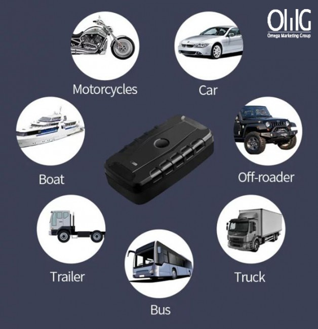GPS SPY Hidden Vehicle Tracker GPS magnètic per a vehicles - OMGGPS013D 02 nou