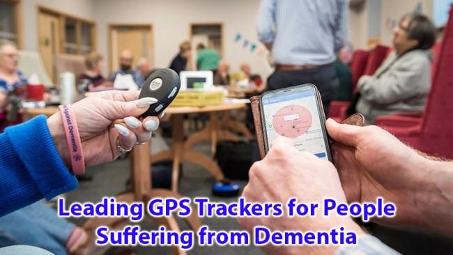 डिमेंशियाबाट पीडित व्यक्तिहरूका लागि अग्रणी GPS ट्र्याकरहरू