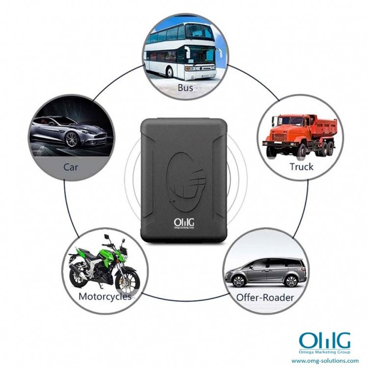 GPS051 - Portable GPS SPY Vehicle - Car Magnetic Tracker - Application (MOM Solutions)