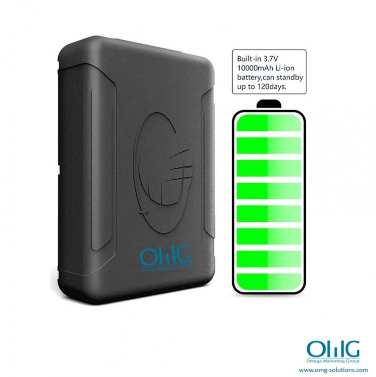 GPS051 - Portable GPS SPY Vehicle - Car Magnetic Tracker - Battery Life (OMG Solutions)