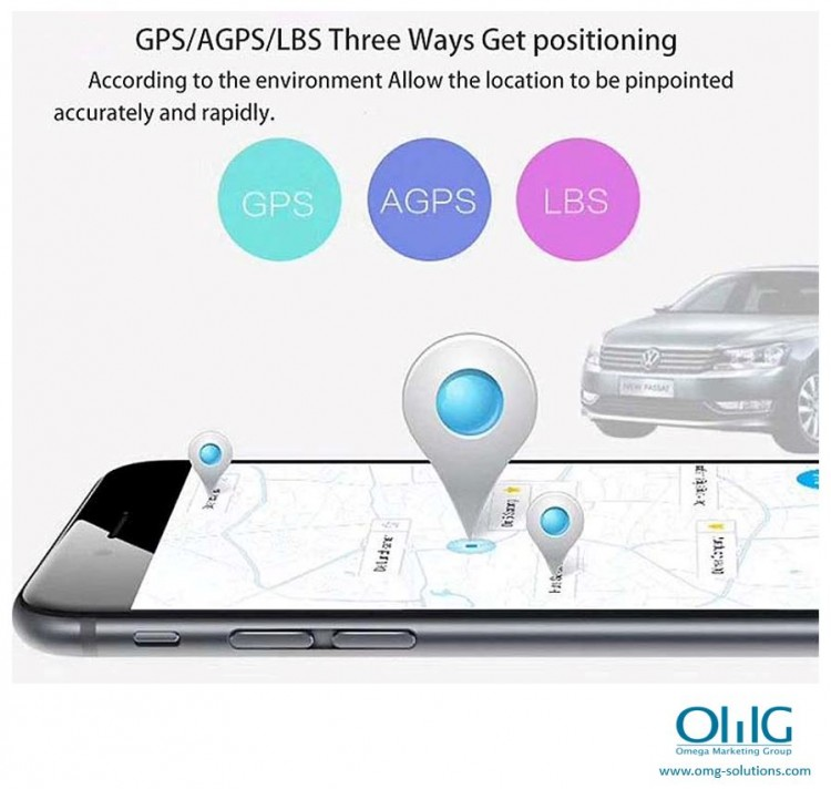 GPS051 - Portable GPS SPY Vehicle - Car Magnetic Tracker - GPS Tracking (OMG-Solutions)