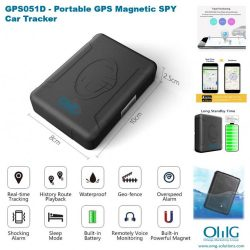 GPS051 - Vehicle GPS SPY portable - Tracker Magnetic Car - Pagina principale