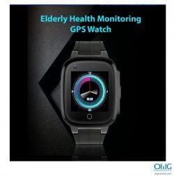GPS052W - vecāka gadagājuma cilvēku veselības uzraudzības GPS pulkstenis - izstrādājuma displejs