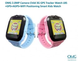 GPS021W - OMG Kids Tracker Watch - ຮູບພາບ