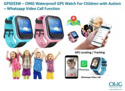 GPS033W-OMG Waterproof GPS Watch for children - Image