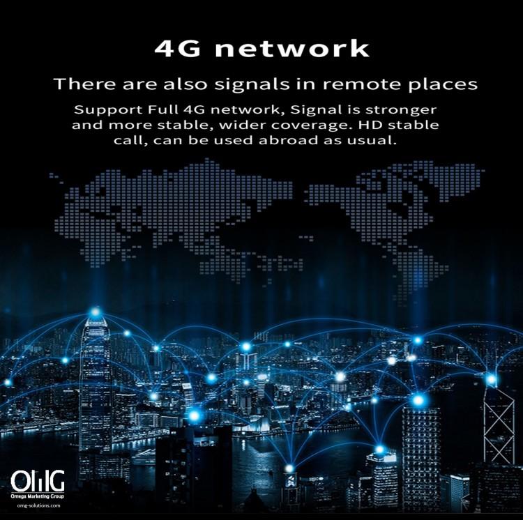 GPS052W - GPS Monitor ສຸຂະພາບຜູ້ສູງອາຍຸ - ໂມງ 4G
