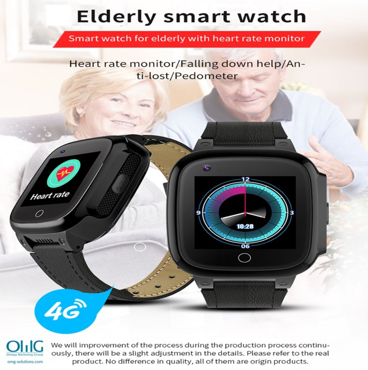 GPS052W - Elderly Health Monitoring GPS Watch - Elderly Smart Watch
