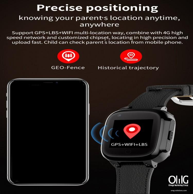 GPS052W - GPS Monitor ສຸຂະພາບຜູ້ສູງອາຍຸ - ເບິ່ງ GPS