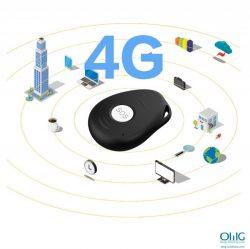 iHelp 3.0 - Pendentif porte-clés de suivi GPS OMG pour les personnes âgées atteintes de démence - 4G