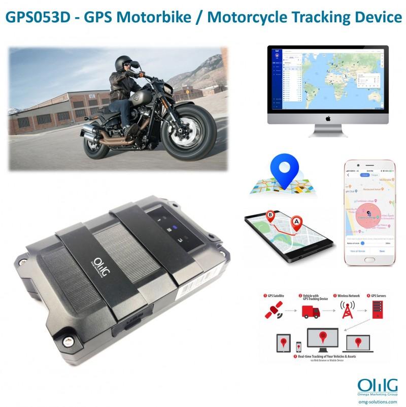 GPS053D - GPS Motor Bike - Motorcycle Tracking Device