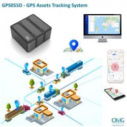 GPS055D - ਜੀਪੀਐਸ ਜਾਇਦਾਦ ਟ੍ਰੈਕਿੰਗ ਸਿਸਟਮ