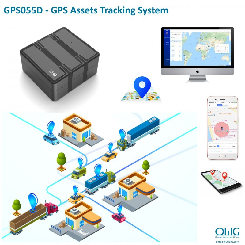 GPS055D - GPS Assets Tracking System