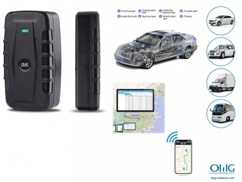 GPS013D - OMG Hidden SPY Vehicle Car Magnetic GPS Tracker