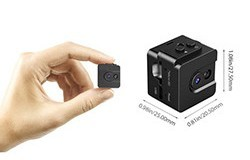 Mini Spy Cam Hidden Camera 720P Portable Small Nanny Cam - 2 250px