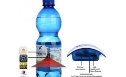 Portable Real Water Bottle Hidden Spy Camera - 1 X1.5