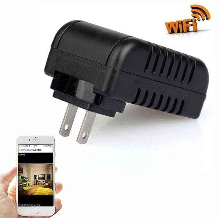 Wifi Spy Hidden Power Adapter USB Wall Charger - 1