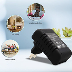 Wireless Hidden Adapter Home Security Cam (SPY040) - S $ 198