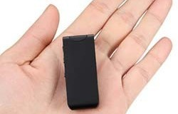 100M Wireless Micro Hidden Long Distance Voice Recorder, 16GB, upto 30 Hrs Recording - 1 250px