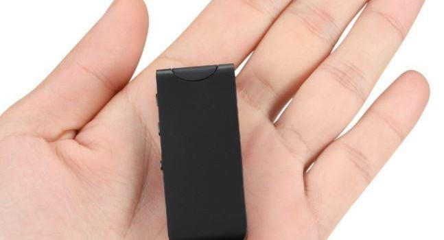 100M Wireless Micro Hidden Long Distance Voice Recorder, 16GB , upto 30 Hrs Recording - 1