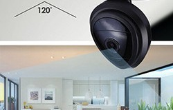 Mini WiFi Wireless Security IP Camera, Vision Night, 2 Way Audio, Faʻamatalaga o Motion - 1 250px