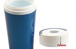 Portable 1280x960 HD EspaTe Water Cup Hidden Camera - 1 250px