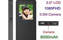 Power Bank Camera - 1 250px