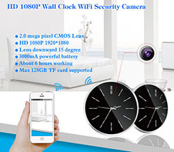 Omega Wifi IP live stream Camera Occhi (SPY059)
