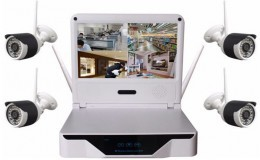 스마트 홈 보안 경보 키트 무선 IP 카메라 HD 1.3 메가 픽셀 와이파이 네트워크 - 1