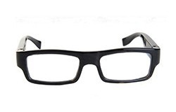 Wearable No Camera Hole Spy Video Eye Glasses - 12MP, 1080P HD - 1 250px