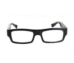 Wearable No Camera Hole Spy Video Eye Glasses - 12MP, 1080P HD (SPY068)