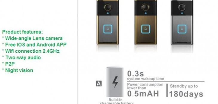 Wifi smart doorbell - 1