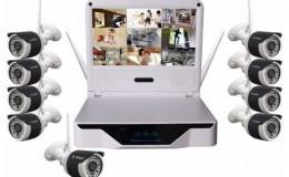 Kablosuz LCD 10.1 inç LCD ekran NVR HD çözünürlük - 1