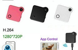 WIFI Mini Wearable Camera, HD 1280x720P, H.264, Motion Detection - 1 250px