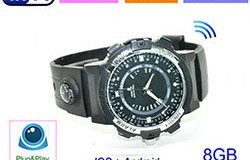WIFI Watch Camera, P2P, IP, Vitio 1280720p, Pule Pule - 1 250px