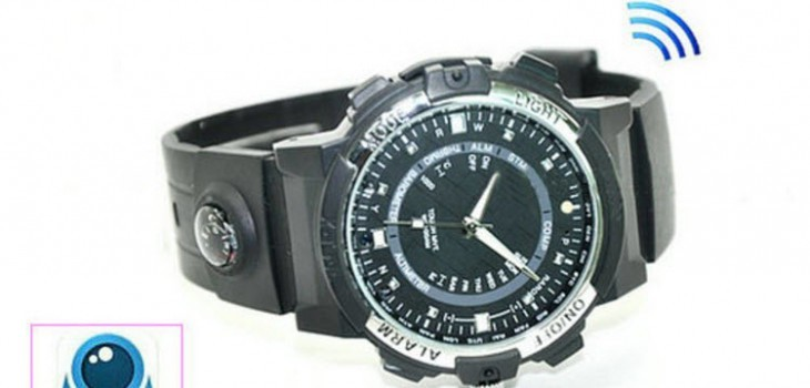 WIFI Watch Camera, P2P, IP, Video 1280720p, App Control - 1