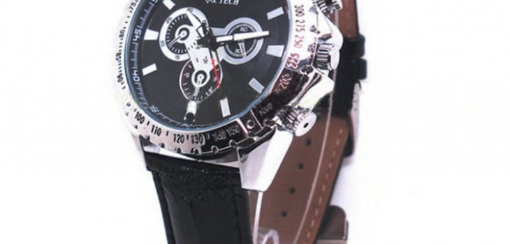 Watch Camera, 1280 x 720P, H.264 Video Format, Motion Detection, 8GB - 1