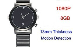HD Watch Camera,1080P HD, Motion Detection - 1 250px