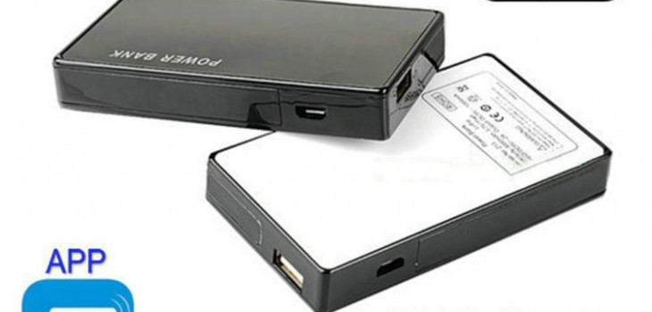 WIFI 1080p Power Bank Hidden Camera DVR - 1