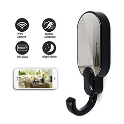 WIFI Hook Camera DVR, HD1080P, Night Vision, Motion Detection (SPY098)