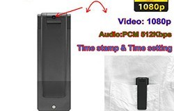 Digital Voice&Video Recorder, Video 1080p, Voice 512kbps,180 Deg Rotation - 1 250px