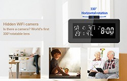 HD 1080P Weather Radio Security Wi-Fi Camera - 1 250px