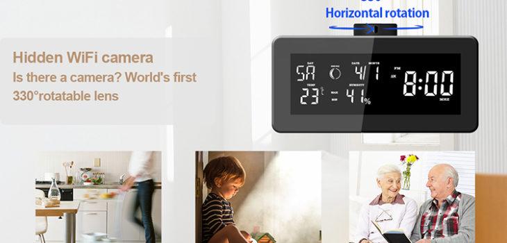 HD 1080P Weather Radio Security Wi-Fi Camera - 1