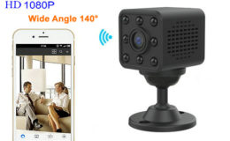 Mini WIFI Camera, HD1080P, H.264, 8 Meters Nightvision Distance - 1