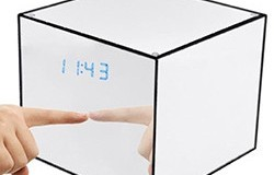 Mirror Box Fashion Safety Hidden Alarm Clock - 1 250px