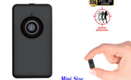 Tinny ThumbSize 1080p Camera, Motion Detection - 1
