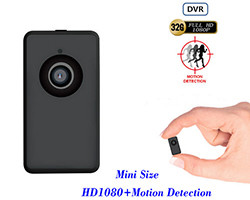Càmera 1080p de mida Thinny Thumb-Size, detecció de moviment (SPY120) - S $ 168