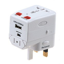USB Traveling Charger Adapter Plug Mini Hidden Spy Kamera (SPY122) - S $ 168