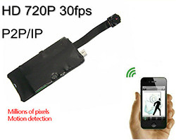 Módulo de cámara WIFI DIY, 1280 * 720p, H.264, iPhone / Android / PC (SPY130)